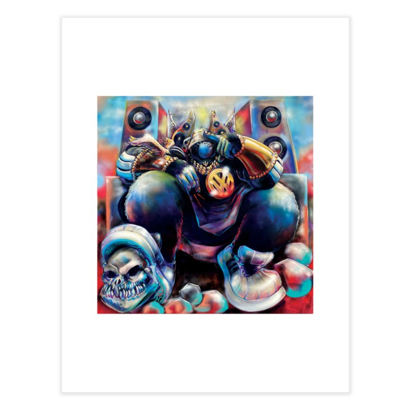 Still #1 (Full) Home Fine Art Print by All City Emporium's Artist Shop