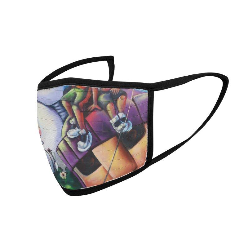 Bunneh an'em Accessories Face Mask by All City Emporium's Artist Shop
