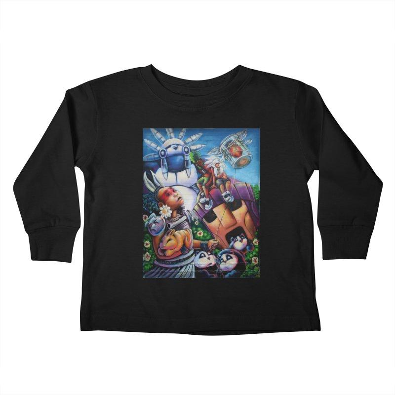 Bunneh an'em Kids Toddler Longsleeve T-Shirt by All City Emporium's Artist Shop