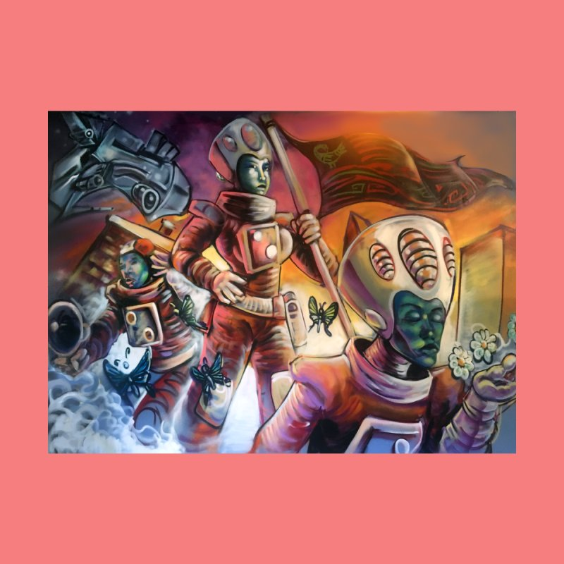Space Program Home Fine Art Print by All City Emporium's Artist Shop