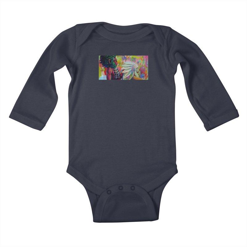 The homies Kids Baby Longsleeve Bodysuit by All City Emporium's Artist Shop