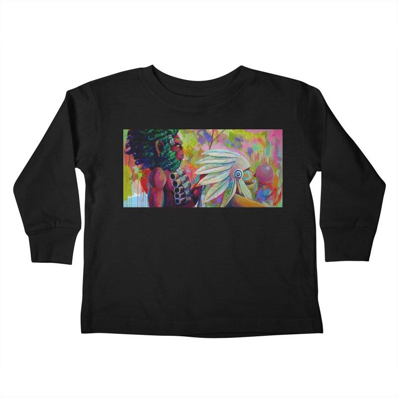 The homies Kids Toddler Longsleeve T-Shirt by All City Emporium's Artist Shop