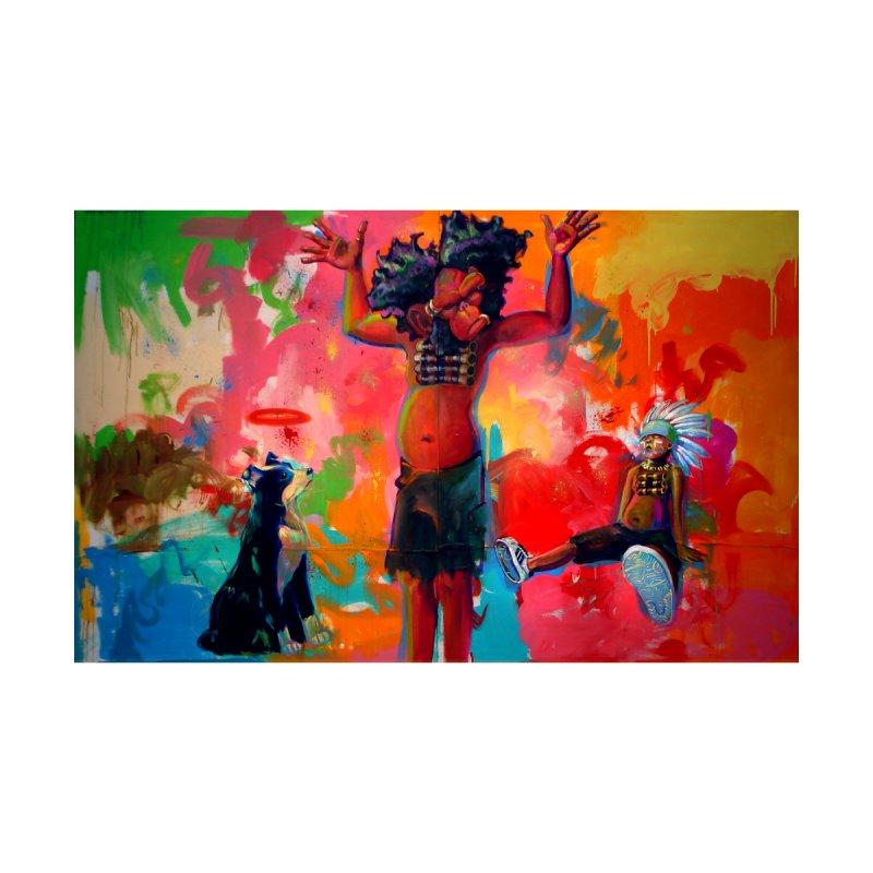 a boy, a troll, a dog and a johnnypump Kids Toddler Longsleeve T-Shirt by All City Emporium's Artist Shop