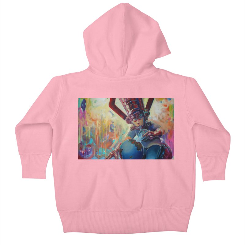 Playing with my food (whole) Kids Baby Zip-Up Hoody by All City Emporium's Artist Shop