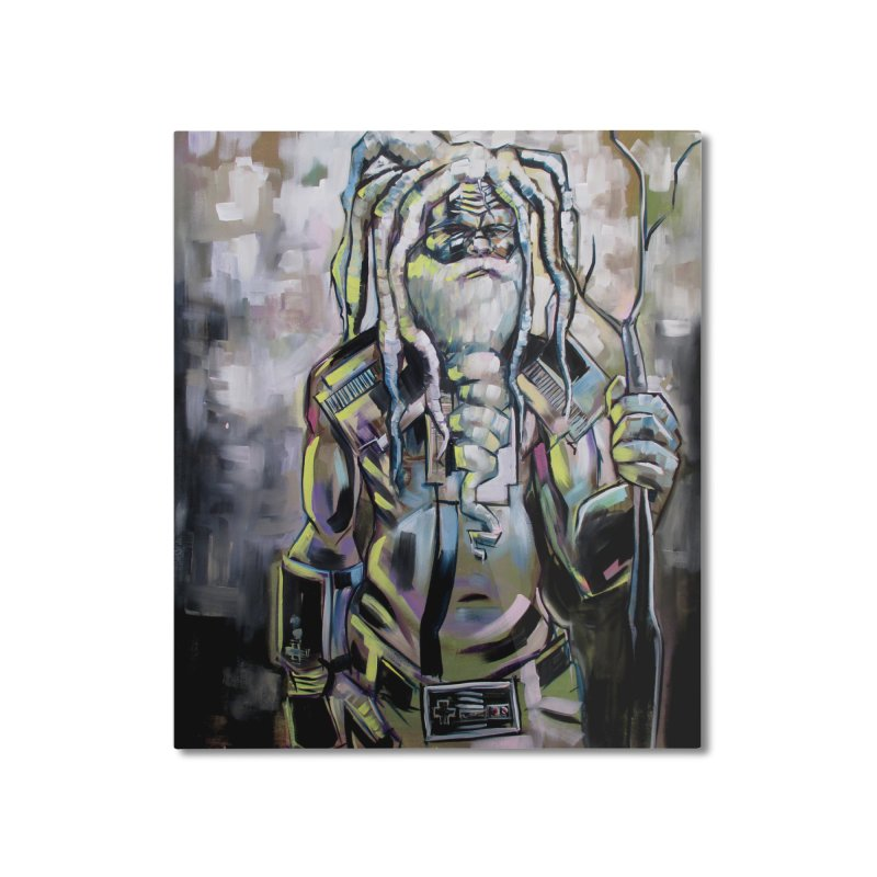 The older gods (Whole) Home Mounted Aluminum Print by All City Emporium's Artist Shop
