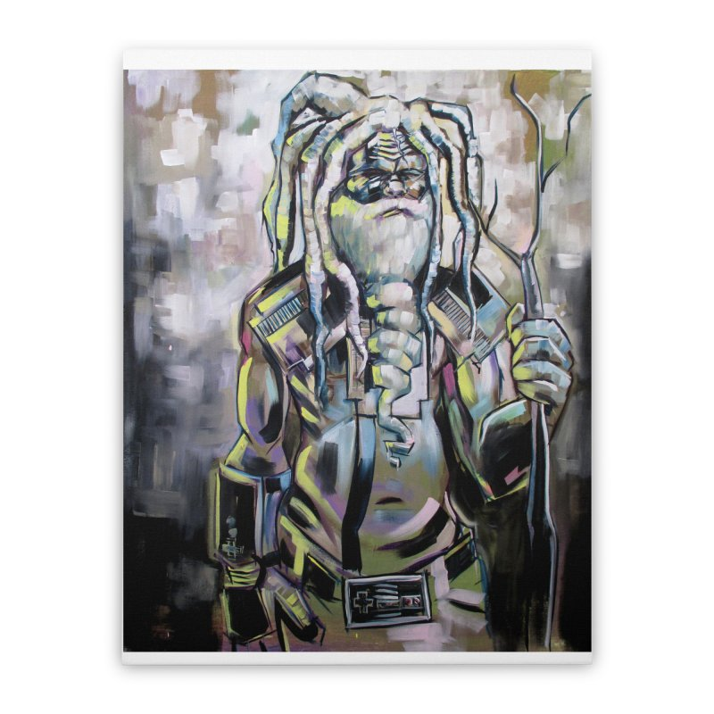 The older gods (Whole) Home Stretched Canvas by All City Emporium's Artist Shop
