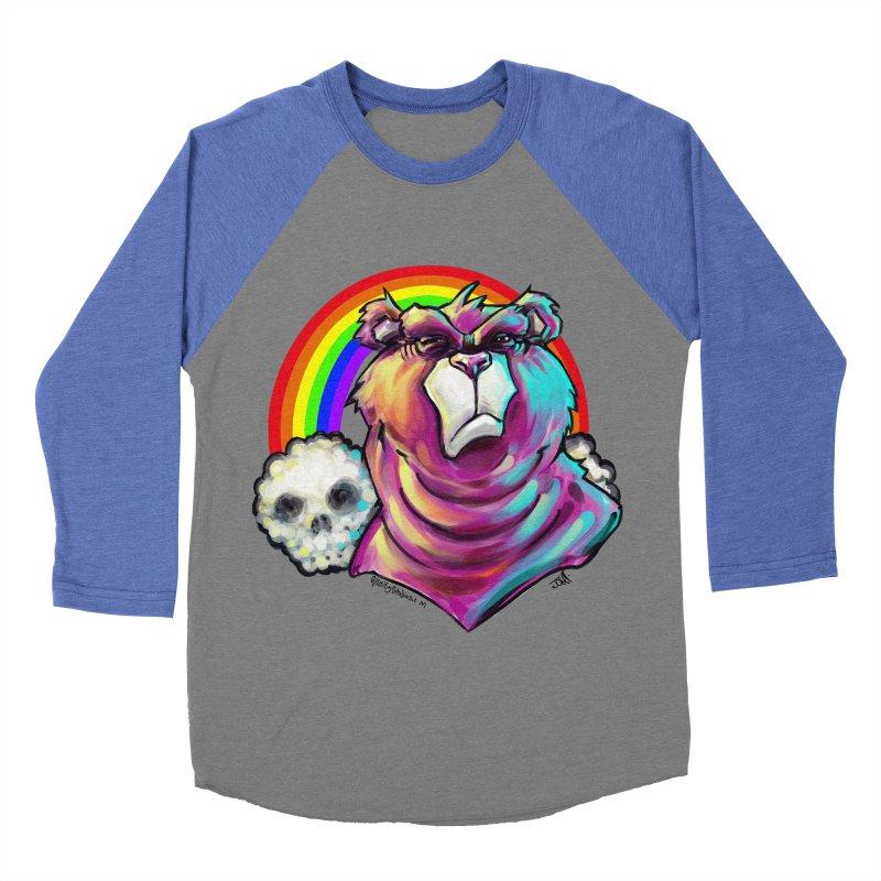 we care a lot Women's Baseball Triblend Longsleeve T-Shirt by All City Emporium's Artist Shop