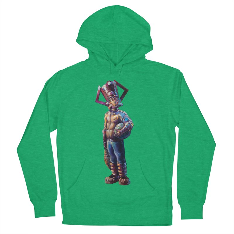Purple and blue boy Women's French Terry Pullover Hoody by All City Emporium's Artist Shop