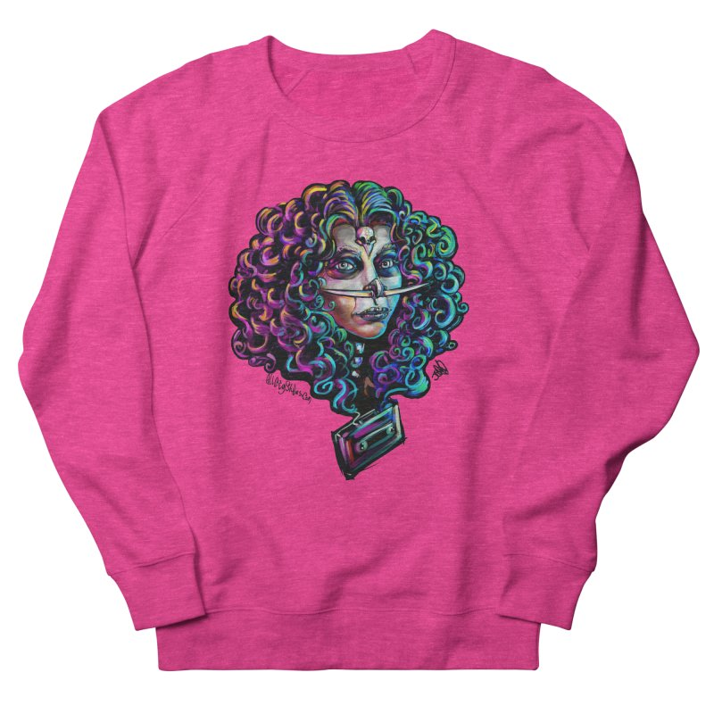 Bruja #1 Women's French Terry Sweatshirt by All City Emporium's Artist Shop