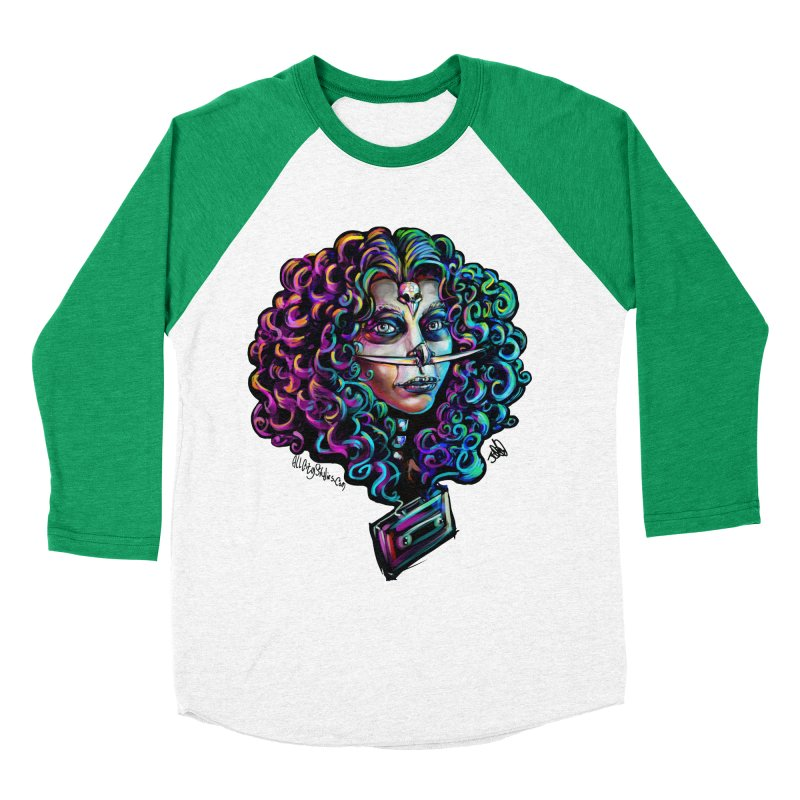 Bruja #1 Women's Baseball Triblend Longsleeve T-Shirt by All City Emporium's Artist Shop