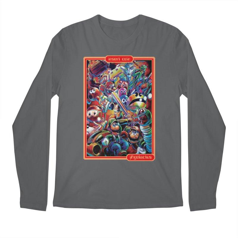Insert Coin Men's Regular Longsleeve T-Shirt by All City Emporium's Artist Shop