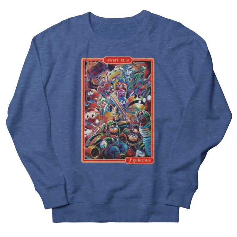 Insert Coin Women's French Terry Sweatshirt by All City Emporium's Artist Shop