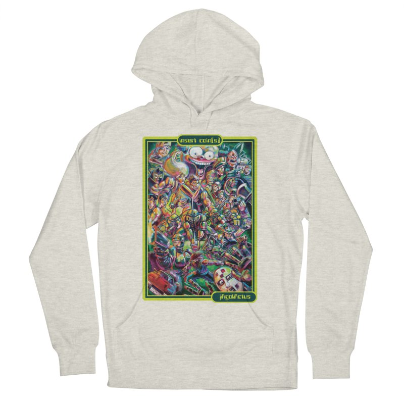 insert coin(s) Men's French Terry Pullover Hoody by All City Emporium's Artist Shop