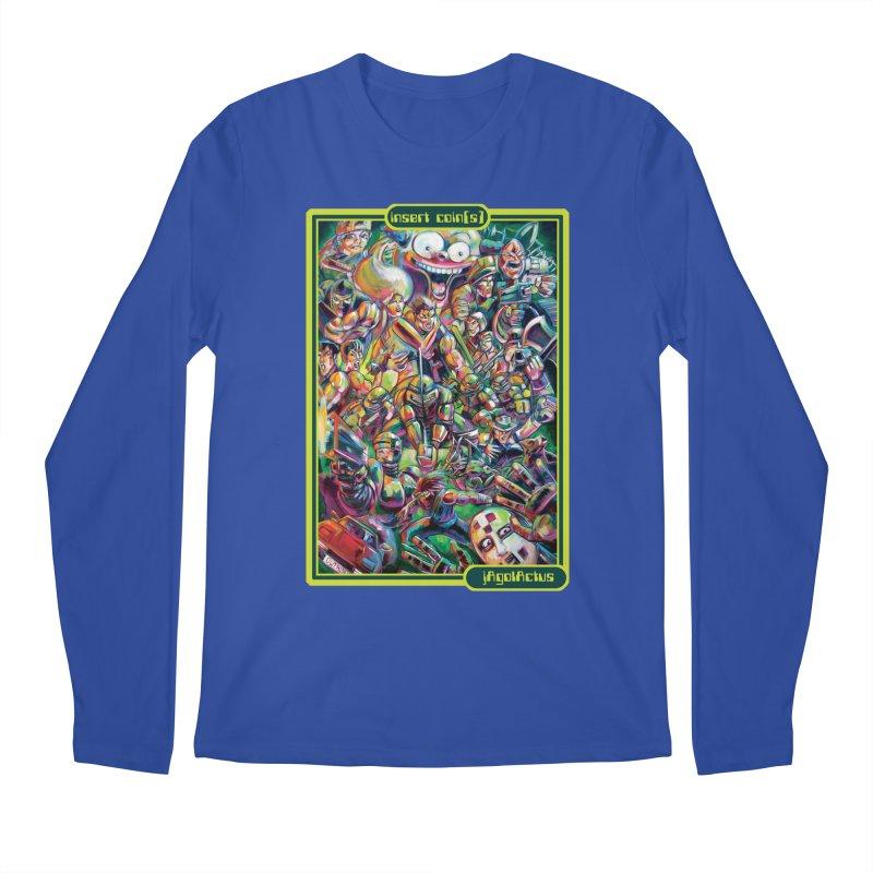 insert coin(s) Men's Regular Longsleeve T-Shirt by All City Emporium's Artist Shop