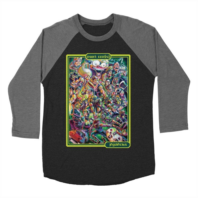 insert coin(s) Women's Baseball Triblend Longsleeve T-Shirt by All City Emporium's Artist Shop