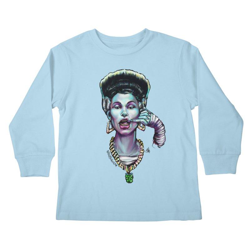 Wifey Kids Longsleeve T-Shirt by All City Emporium's Artist Shop