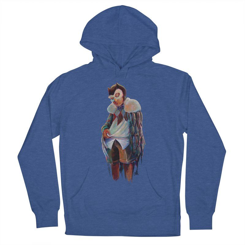 Owl boi Women's French Terry Pullover Hoody by All City Emporium's Artist Shop