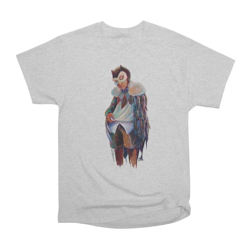 Owl boi Women's Heavyweight Unisex T-Shirt by All City Emporium's Artist Shop
