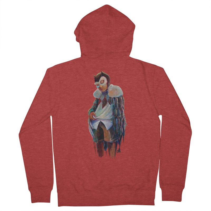 Owl boi Men's French Terry Zip-Up Hoody by All City Emporium's Artist Shop