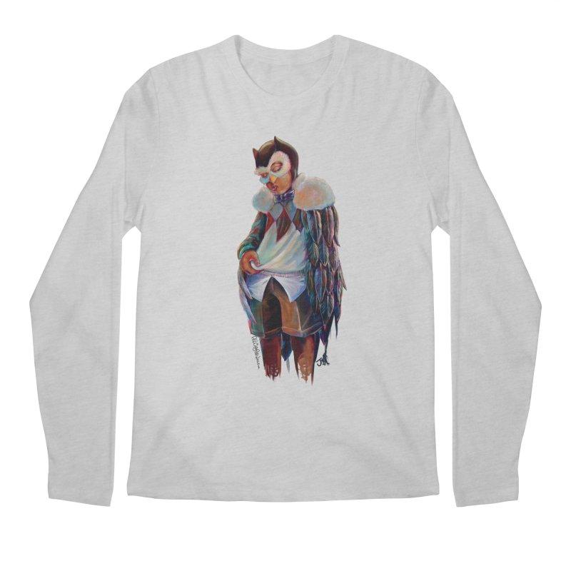 Owl boi Men's Regular Longsleeve T-Shirt by All City Emporium's Artist Shop