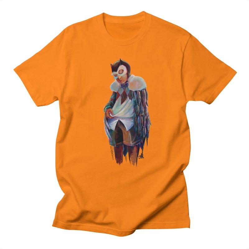 Owl boi Women's Regular Unisex T-Shirt by allcityemporium's Artist Shop