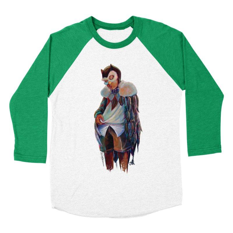 Owl boi Women's Baseball Triblend Longsleeve T-Shirt by allcityemporium's Artist Shop