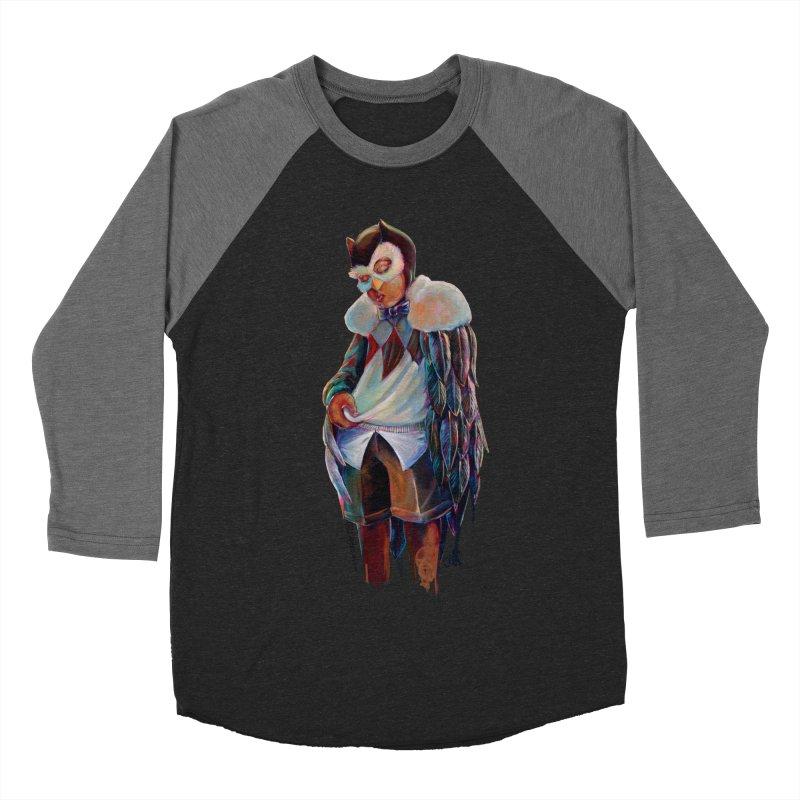 Owl boi Women's Baseball Triblend Longsleeve T-Shirt by All City Emporium's Artist Shop