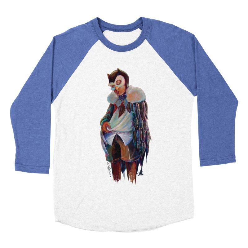 Owl boi Men's Baseball Triblend Longsleeve T-Shirt by allcityemporium's Artist Shop