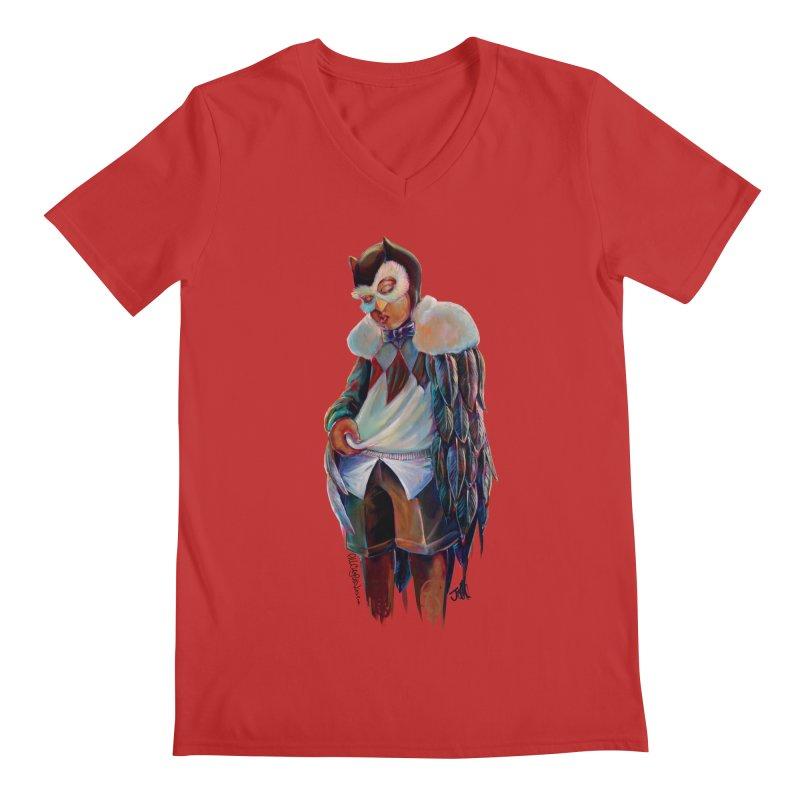 Owl boi Men's Regular V-Neck by allcityemporium's Artist Shop