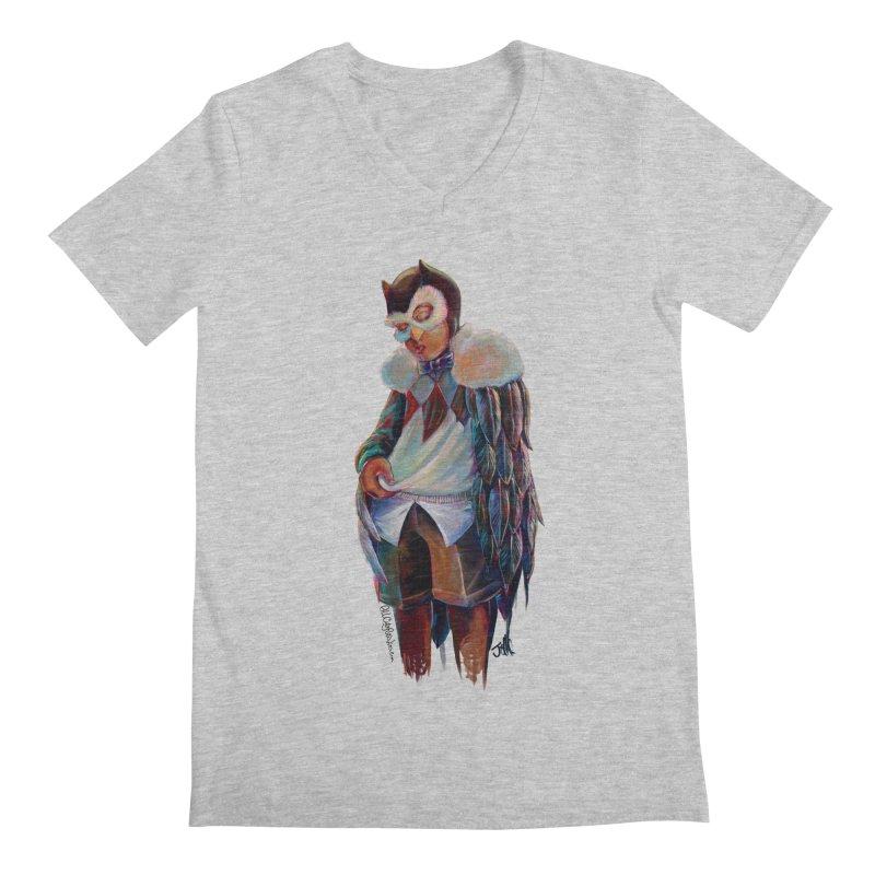 Owl boi Men's Regular V-Neck by All City Emporium's Artist Shop