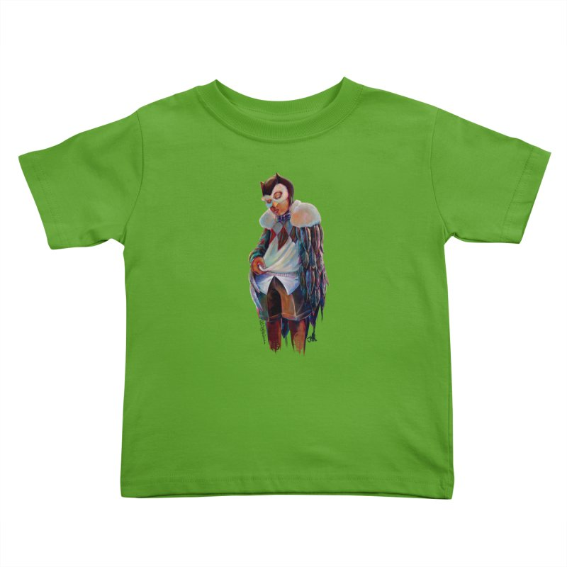 Owl boi Kids Toddler T-Shirt by All City Emporium's Artist Shop