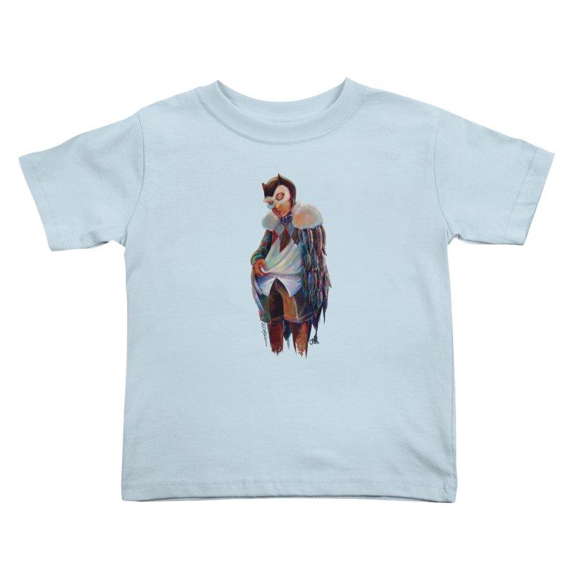 Owl boi Kids Toddler T-Shirt by All City Emporium's Artist Shop