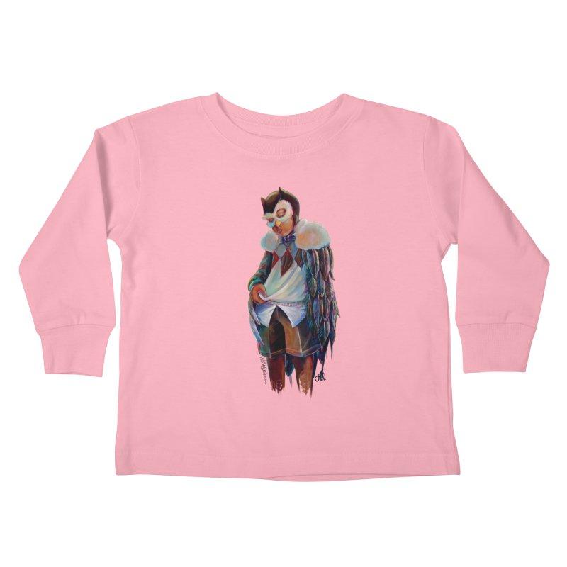 Owl boi Kids Toddler Longsleeve T-Shirt by All City Emporium's Artist Shop