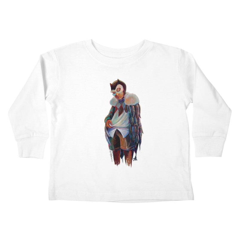 Owl boi Kids Toddler Longsleeve T-Shirt by All City Emporium's Artist Shop