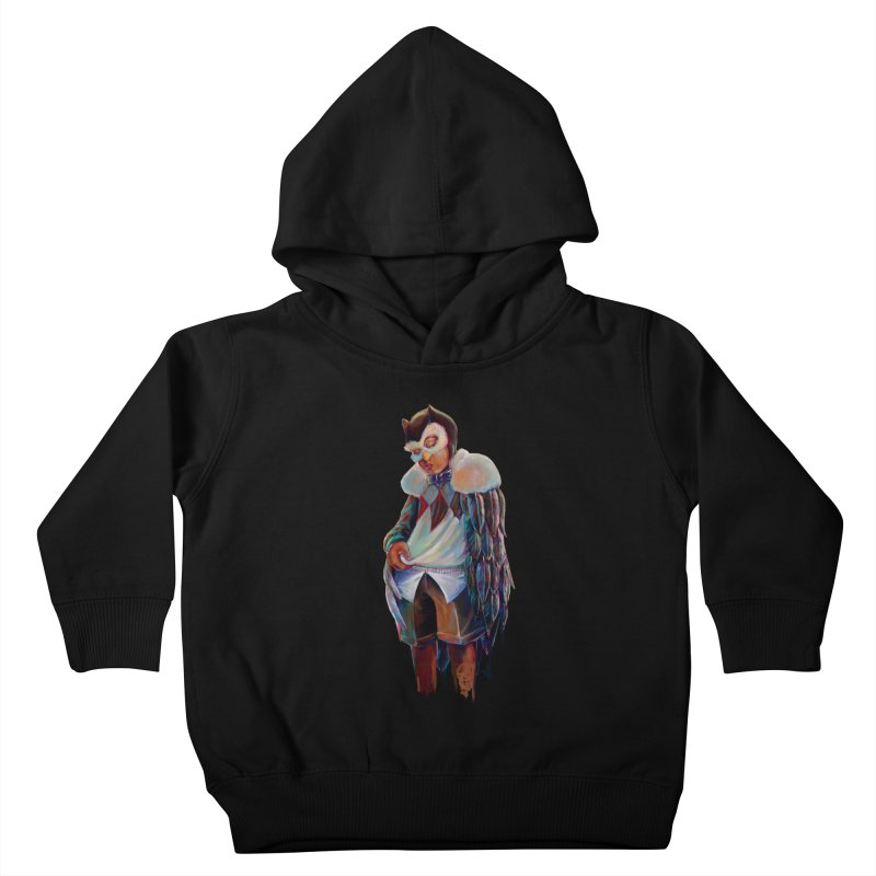 Owl boi Kids Toddler Pullover Hoody by All City Emporium's Artist Shop