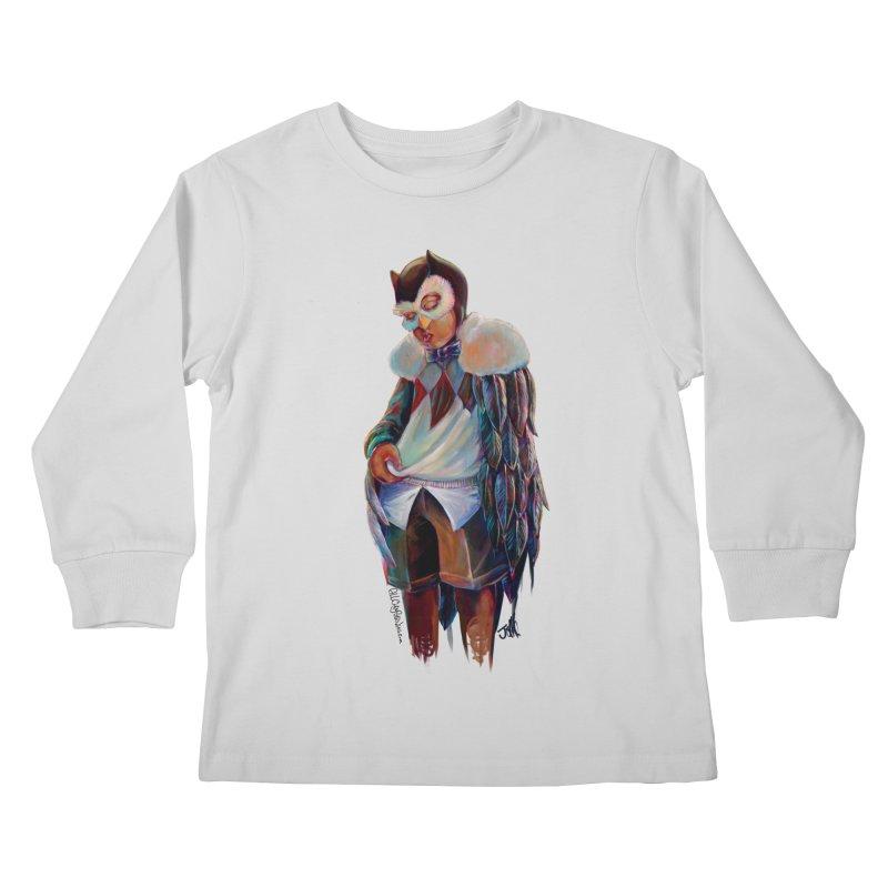 Owl boi Kids Longsleeve T-Shirt by All City Emporium's Artist Shop