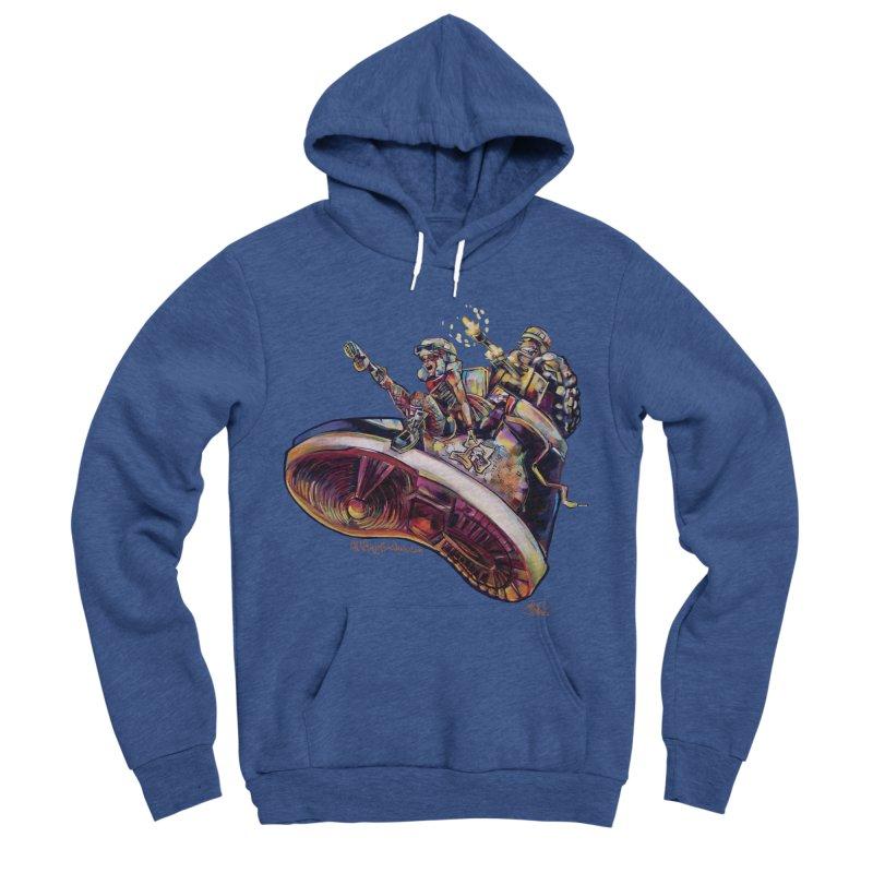 Fly Kicks Men's Sponge Fleece Pullover Hoody by All City Emporium's Artist Shop