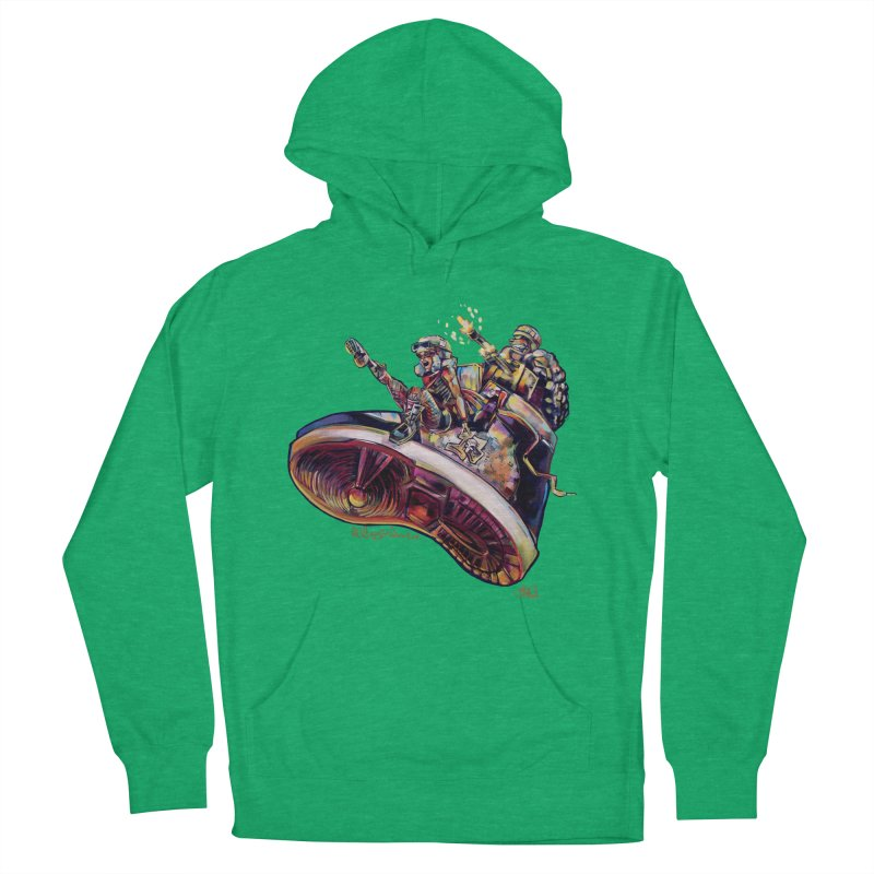 Fly Kicks Women's French Terry Pullover Hoody by All City Emporium's Artist Shop