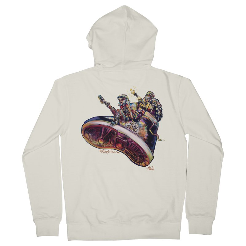 Fly Kicks Men's French Terry Zip-Up Hoody by All City Emporium's Artist Shop