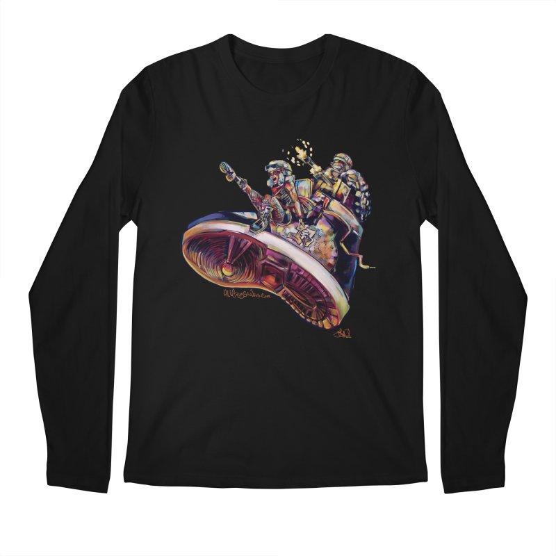 Fly Kicks Men's Regular Longsleeve T-Shirt by All City Emporium's Artist Shop