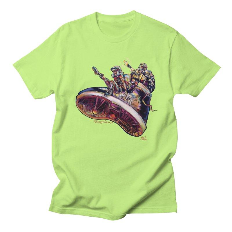 Fly Kicks Women's Regular Unisex T-Shirt by All City Emporium's Artist Shop