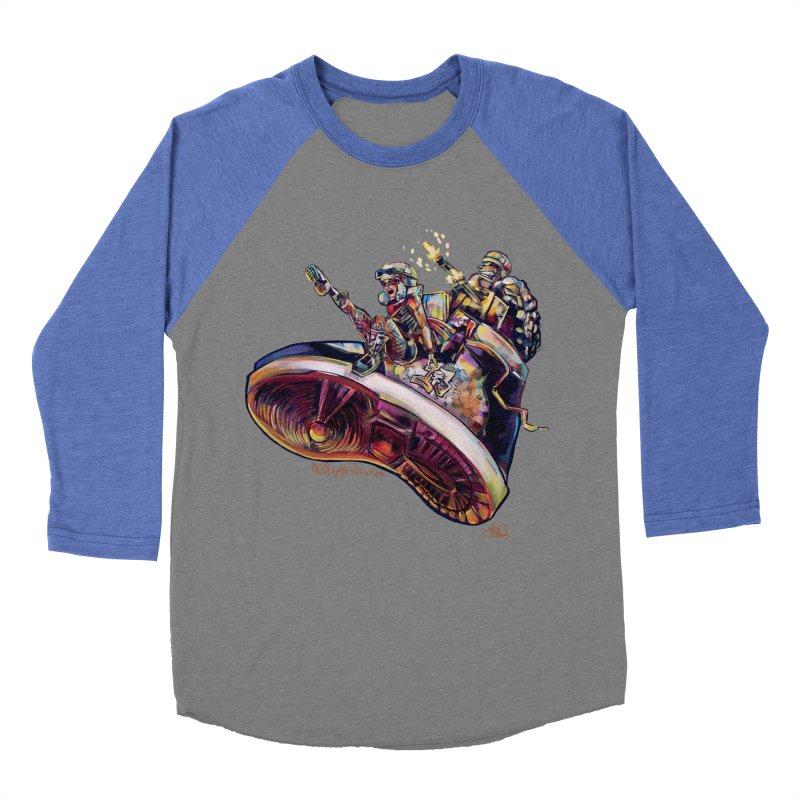 Fly Kicks Women's Baseball Triblend Longsleeve T-Shirt by All City Emporium's Artist Shop