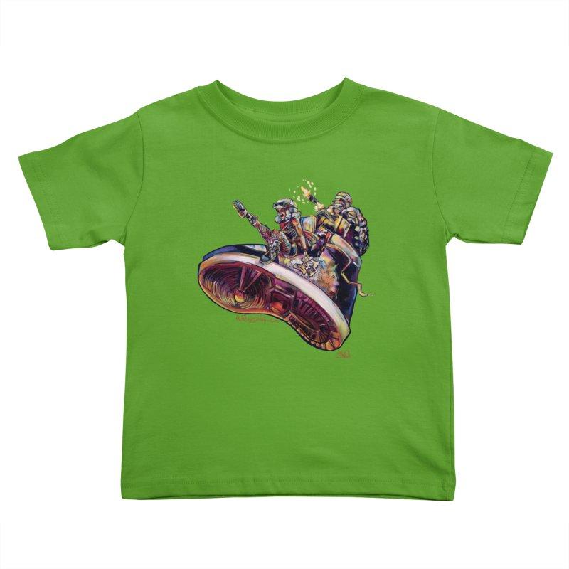 Fly Kicks Kids Toddler T-Shirt by All City Emporium's Artist Shop