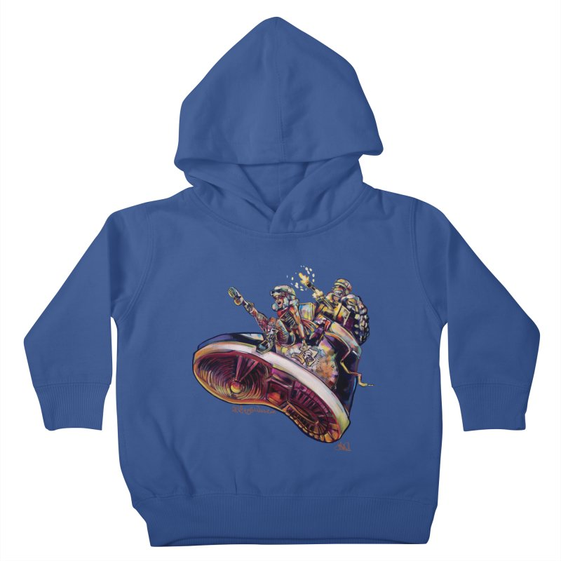 Fly Kicks Kids Toddler Pullover Hoody by All City Emporium's Artist Shop