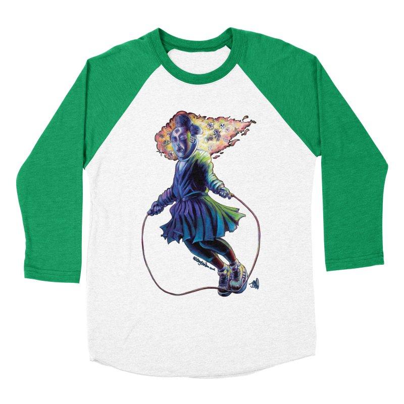 Process #3 Women's Baseball Triblend Longsleeve T-Shirt by All City Emporium's Artist Shop