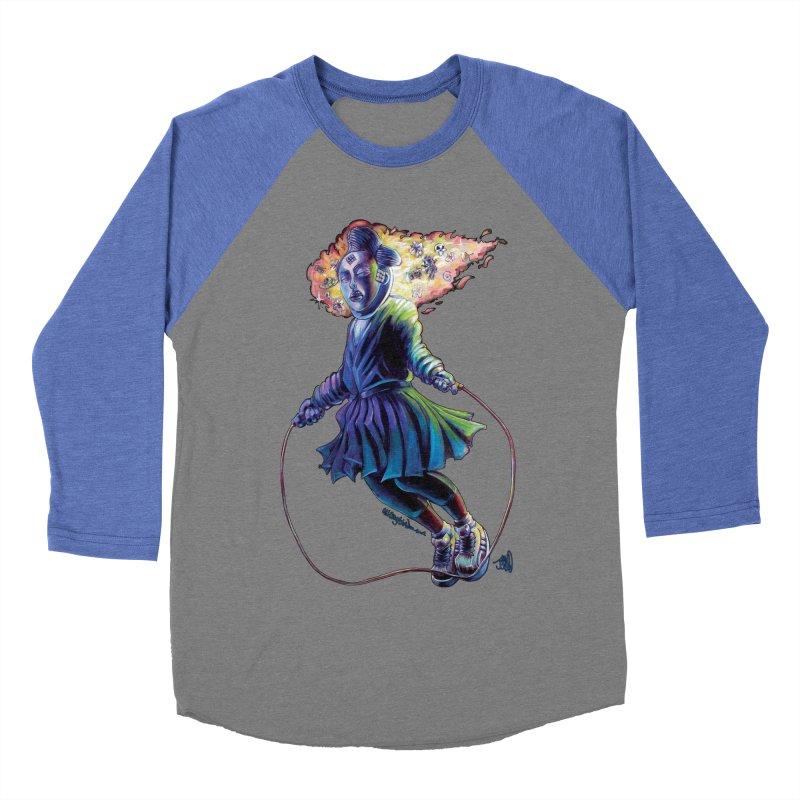 Process #3 Women's Baseball Triblend Longsleeve T-Shirt by allcityemporium's Artist Shop