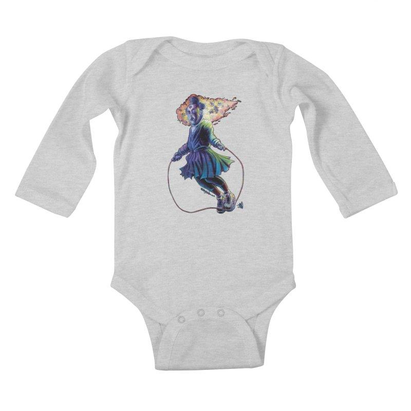 Process #3 Kids Baby Longsleeve Bodysuit by All City Emporium's Artist Shop