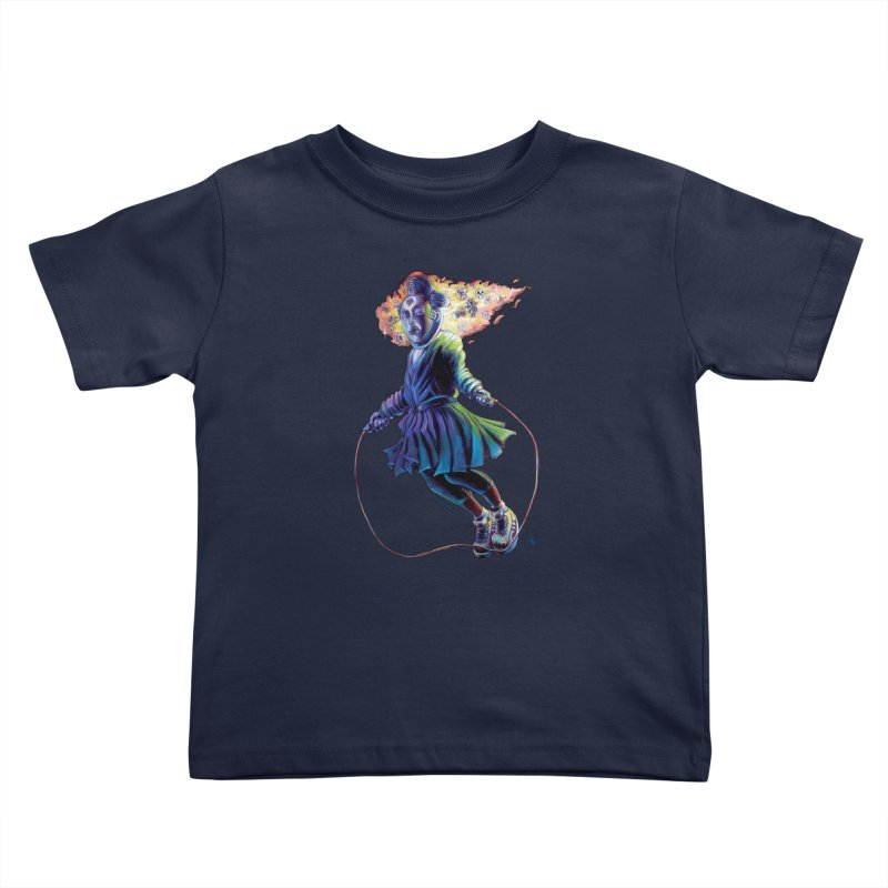 Process #3 Kids Toddler T-Shirt by All City Emporium's Artist Shop