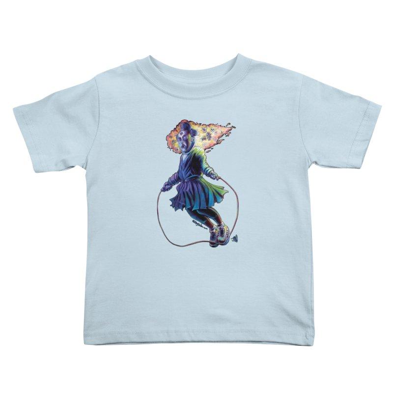 Process #3 Kids Toddler T-Shirt by All City Emporium's Artist Shop