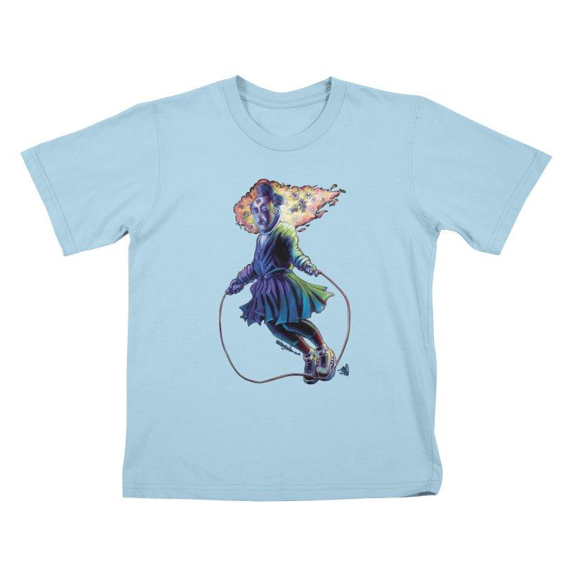 Process #3 Kids T-Shirt by allcityemporium's Artist Shop